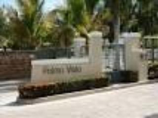 Gate entrance to cPalma Vista complex