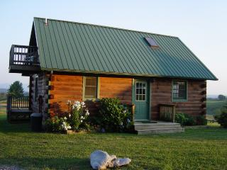 Log Cabin, Lexington Virginia Shenandoah Valley Rockbridge County VA Horse Cente