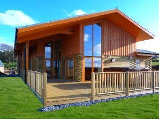 AURAE, quality lodge with hot tub, saunda, views, open plan accommodation, Cawdor, Inverness Ref 904499, Dalcross
