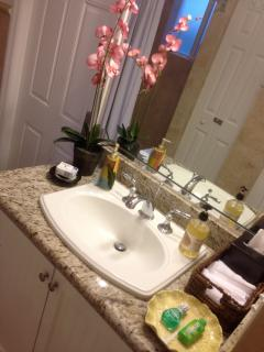Granite Counter tops in Bathrooms