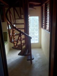 Staircase to second floor