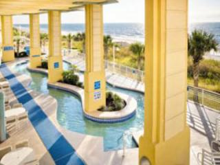 On the Beach in North Myrtle in a 2 bedroom Condo