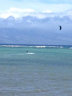 Out in Front awesome Kiteboarding and Standup Paddleing