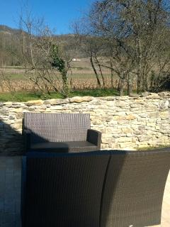 Terrace Garden over along vineyards