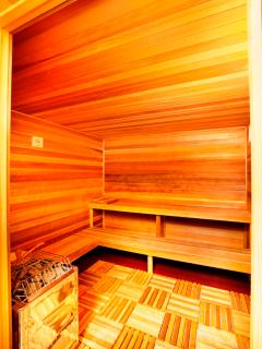 Sauna at the Clubhouse