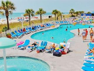 Spectacular Oceanfront 1 BR Condo Sleeps 8 Keyless, North Myrtle Beach
