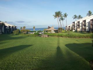 Kihei Maui Kondo partial ocean view steps to beach