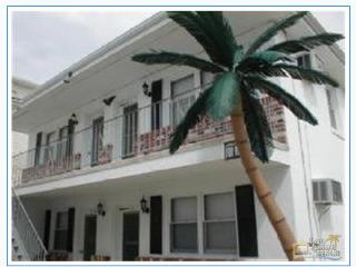 Palms Down the Shore 4 bed beachy Apt in Wildwood