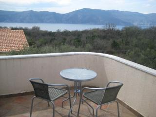 Villa Matiz on Krk with great garden and SEA VIEW!