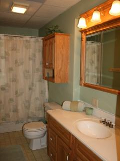 Lower Bathroom w/Whirlpool Tub