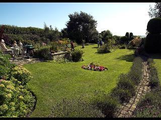The Main Garden at Butlers Farmhouse