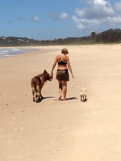 Pet Friendly Deserted Beaches 5 minutes away