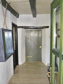 the rear entrance