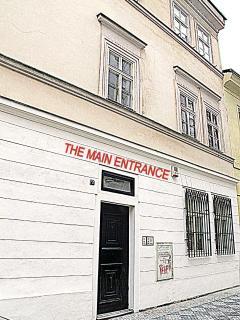 he main entrance