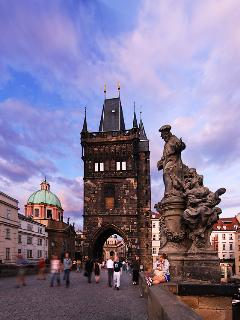 Prague is a beautiful city