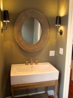 New Powder Room & Vanity