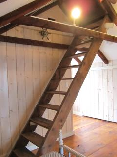 Original 1820 Steps to Roof Walk
