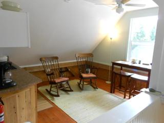 Eating Dining Area seen from stairway