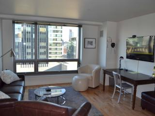 Theater District Luxury 1-Bed: 17th Floor Views, Boston