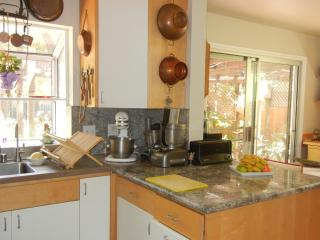 Plenty of light and granite counter space