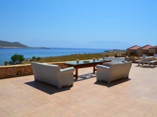 Majestic sea front villa Aristoteles