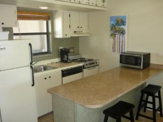 Best water views form the balcony of this top floor corner unit, Marco Island
