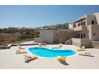 Apartment Complex in Santorini