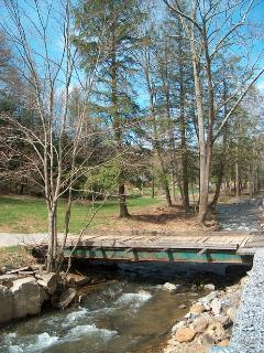 Driveway and Bridge over Paint Creek