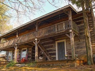 Sleep in a bit of history, 1860 log cabin, Rogersville