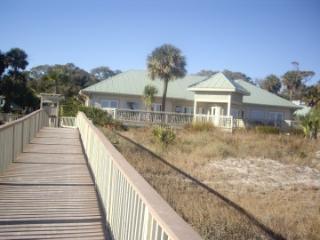 beach house with facilities
