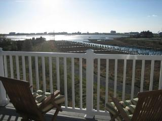 Private 2nd Floor Deck Overlooking Bay