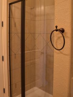 Master Bath - Tiled Shower