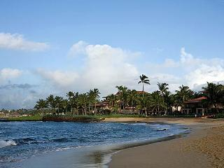 Marriott's Waiohai Beach Club:Ocean View 2BR Villa, Koloa