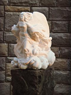 This was David's first marble carving! His FIRST! Can you believe it?
