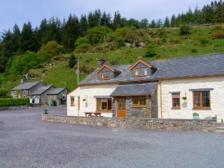 HENRHIW UCHAF, enclosed lawned garden, patio with furniture, open fire, Ref 913376