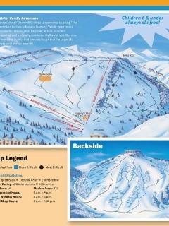Tahoe Donner Ski Trail Map