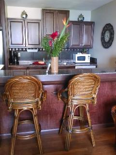 Custom Rattan Bar Stools