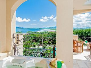 Stunning condo- near beach and town, oceanview, kitchen, tv, cable, jacuzzi, Tamarindo