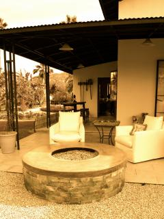 Relax at the fire pit