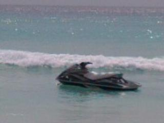 Jetski for hire at Dover Beach