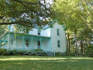 Charming  secluded 1910 home on 62 parklike acres