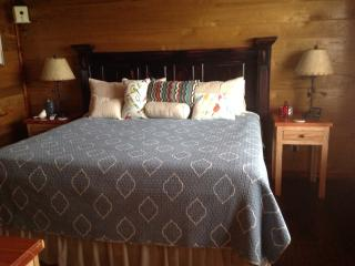 Cozy and plush king size bed
