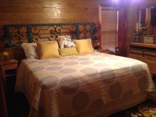 Romantic and comfortable king size bed