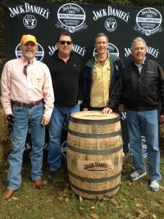 Friends at Jack Daniels Distillery