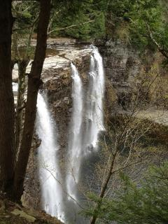 Salmon River Falls approx 3 miles from cottage