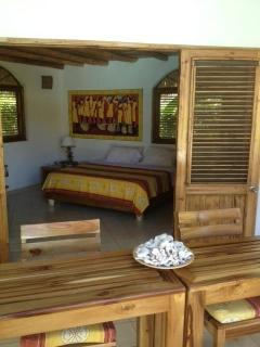 bungalow with king size bed