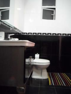 Bathrooms with all amenities
