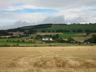 Landscape around the Hayloft Self-Catering Cottage Perthshire