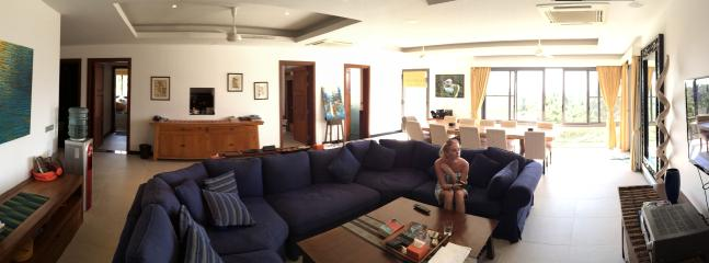 Panormaic view of Living Room