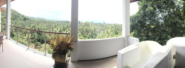 Panoramic view from 2nd floor terrace